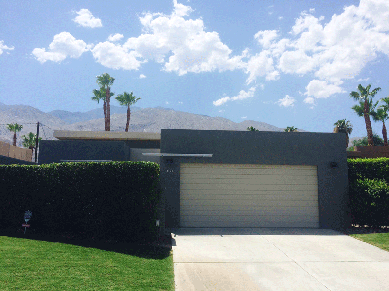 Palm Springs Gray Modern Design