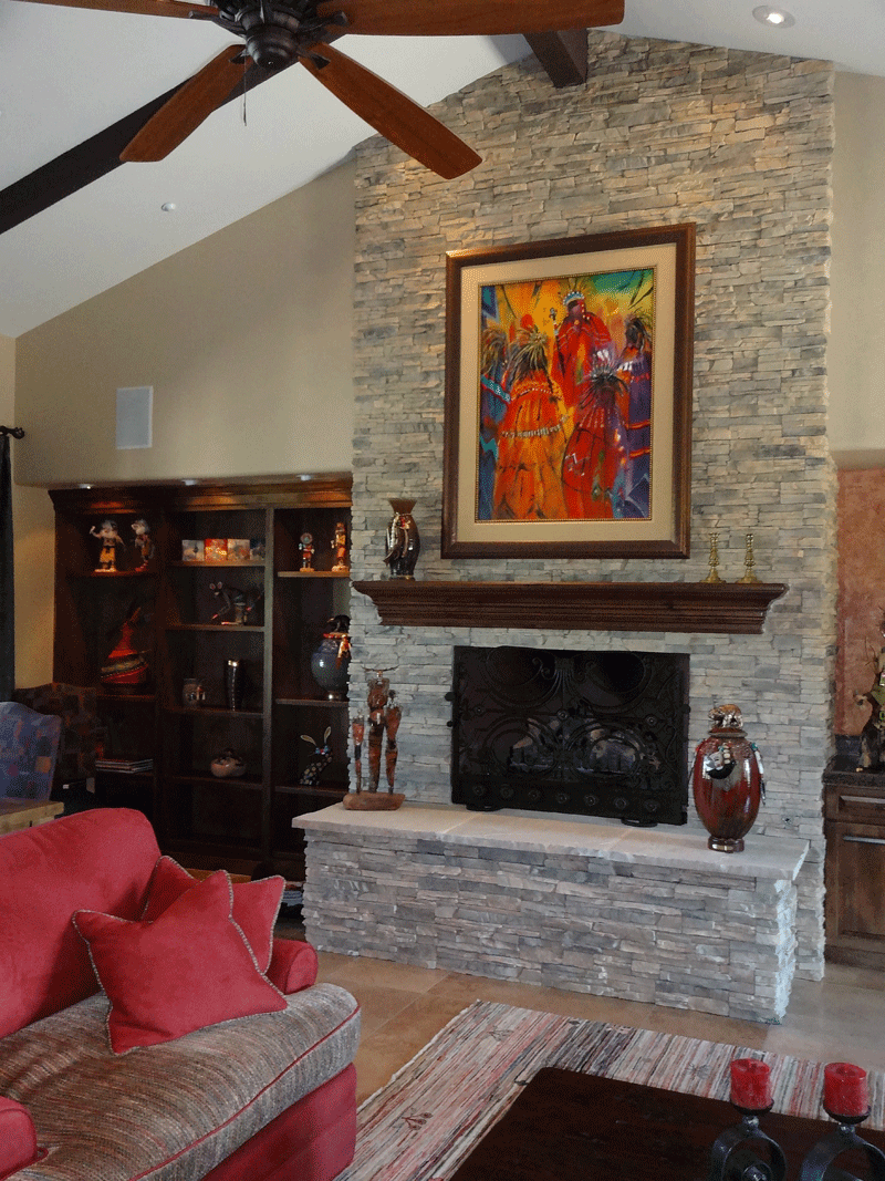 Wall Paint Colors Draw From Stackstone Fireplace The Color Coach Palm Desertthe Color Coach